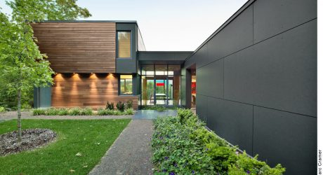 T HOUSE: A Modern Country Retreat in Quebec