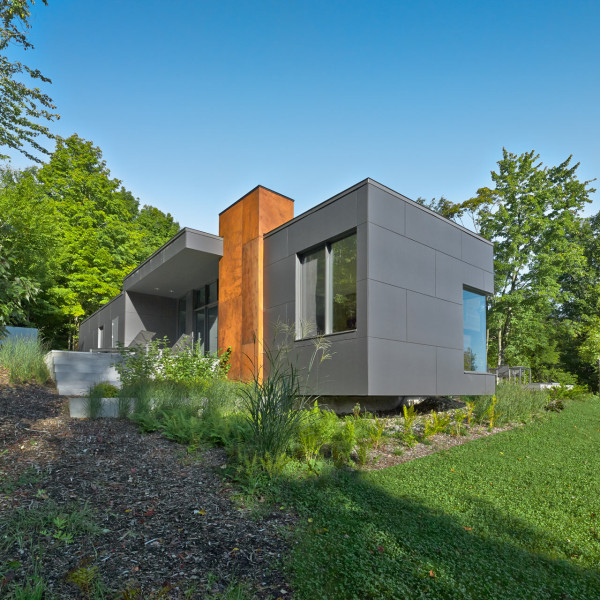 T House A Modern Country Retreat In Quebec Design Milk