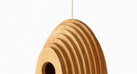 Tree Ring Birdhouse by Jarrod Lim for Hinika