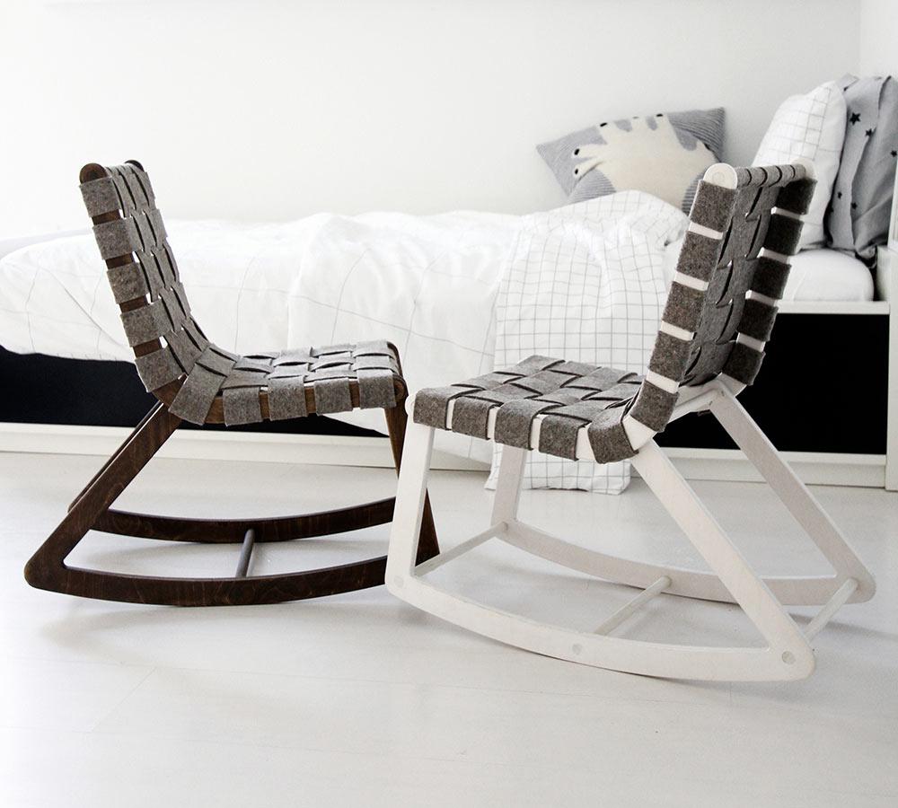 Modern Rock: AMM Children's Rocking Chair