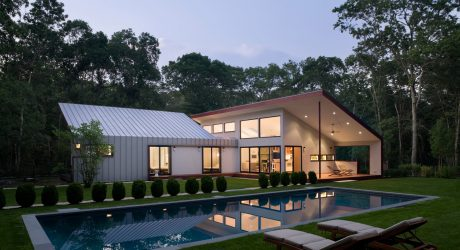 An East Hampton Retreat With A Large Outdoor Room