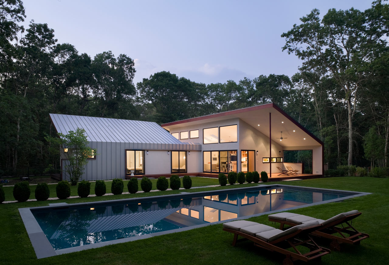 An east hampton retreat with a large outdoor room design for Pool design hamptons