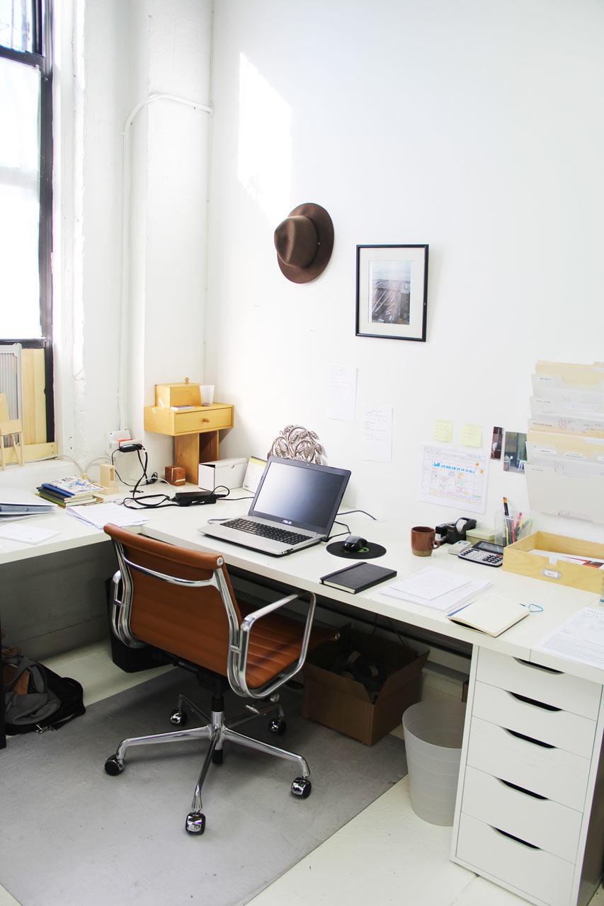 Jean's desk