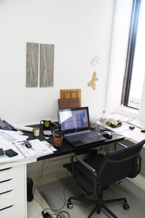 Oliver's desk
