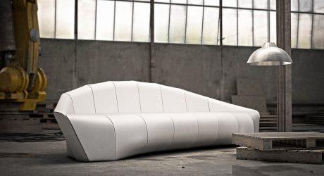 A Sofa Modeled After Ferdinand von Zeppelin's Airship