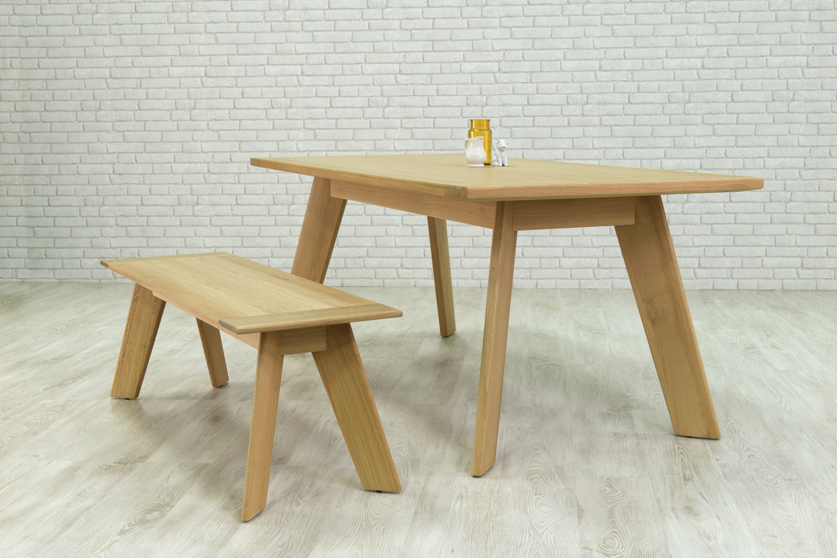Cardona Dining Table and Bench