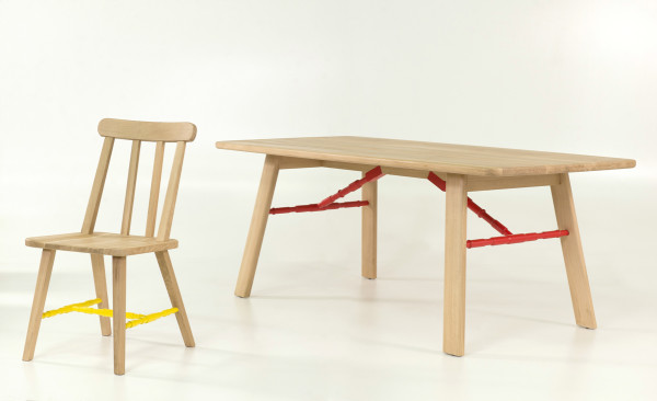 Affoltern Dining Table and Danja Chair