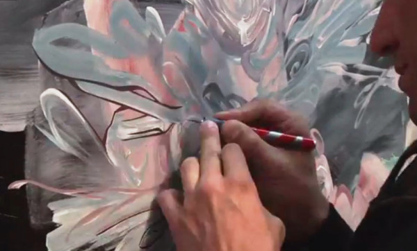 """Video still from """"Emilio Perez: Artists and Oceans"""" by One World One Ocean"""