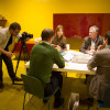 giulio-cappellini-video-shoot-milan-showroom