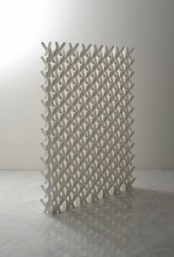 A Divider Screen Made of Paper Design Milk