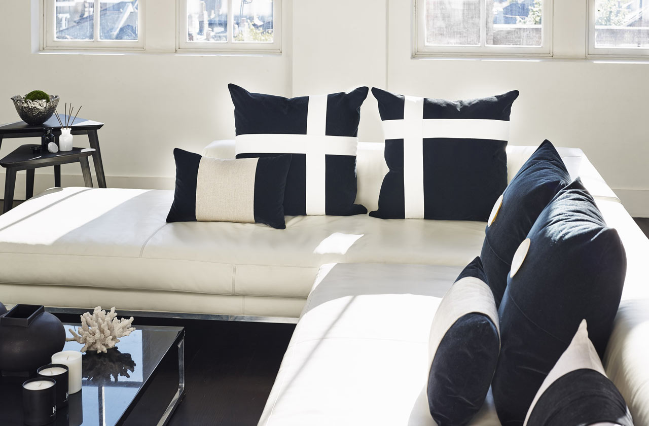 Velvet Cross Cushions
