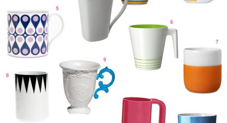 Roundup: 12 Modern Mugs