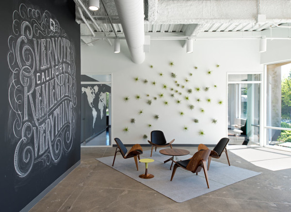 oplusa evernote offices 1 600x437 Best Interior Design Posts of 2014