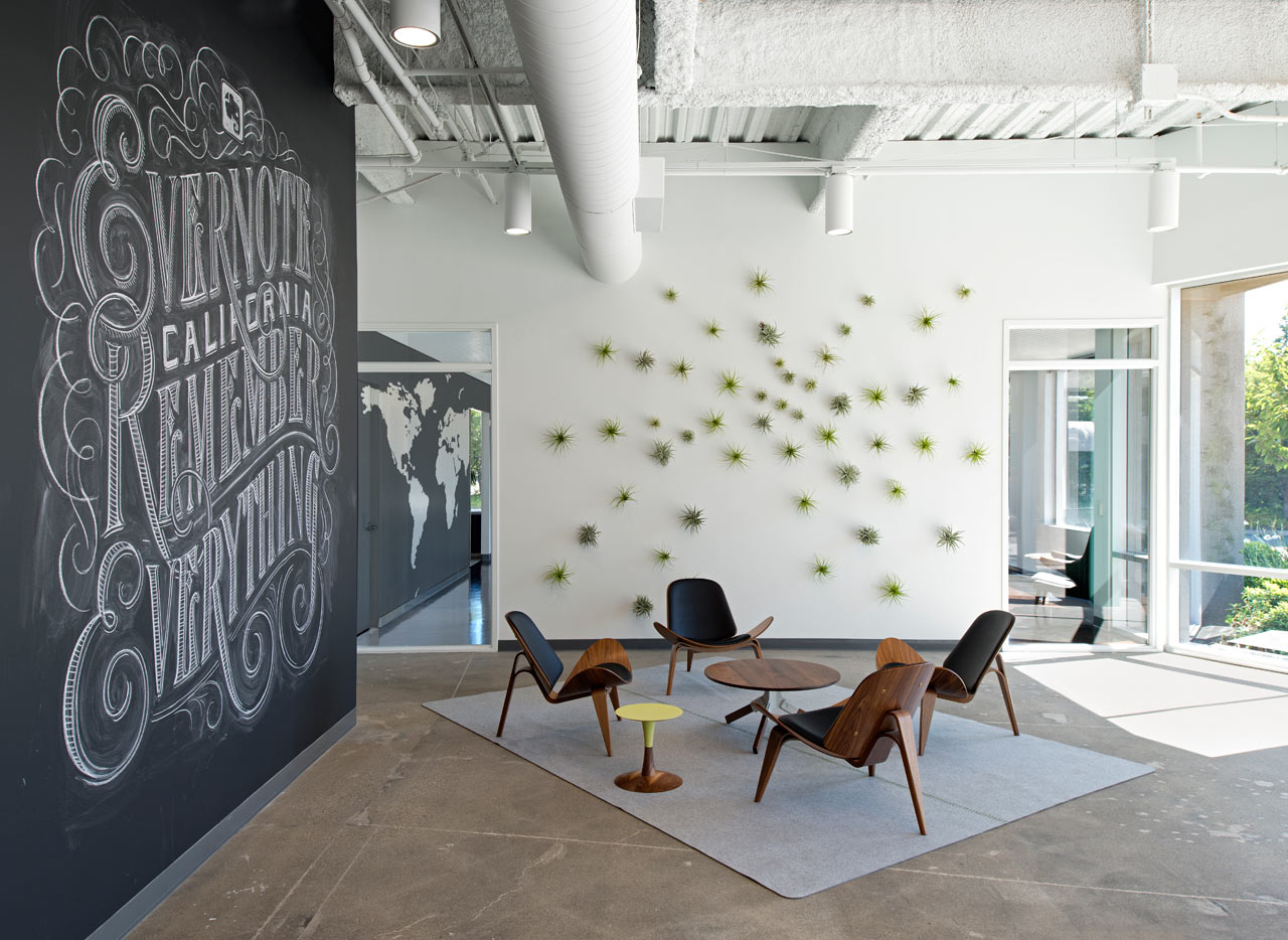 Evernote offices designed with creative details design milk for Creative home designs llc