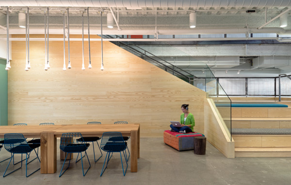 Evernote Offices Designed With Creative Details in main interior design  Category