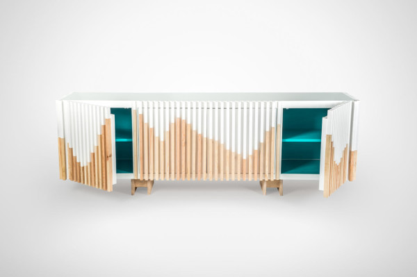 A Credenza Inspired by Mountains in main home furnishings  Category