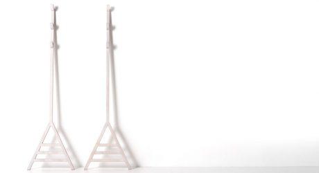 Stekko Minimalist Leaning Coatrack