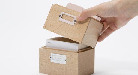 Tsumugi Minimalist Storage Boxes by Ideaco