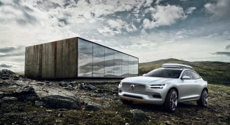 A First Look at Volvo's New Concept XC Coupe