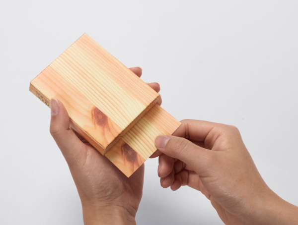Memo Pad That Looks Like a Block of Wood in style fashion main  Category
