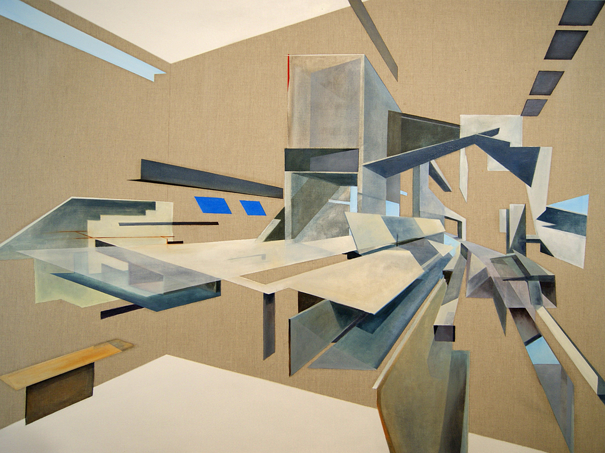The architect, 145x185cm, Oil on canvas