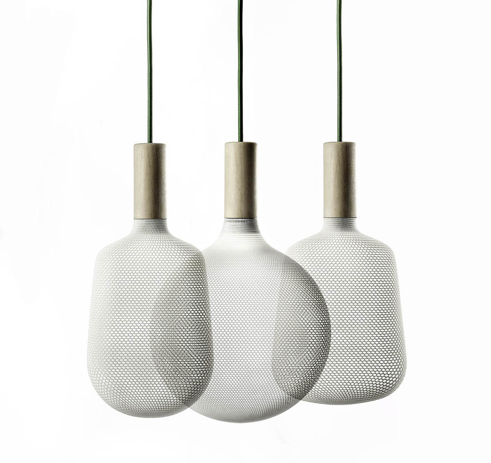 Alessandro Zambelli's 3D Printed Lights For .exnovo