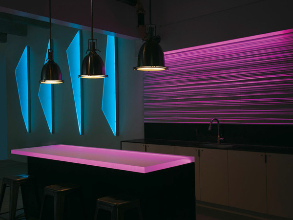 New RGB Lighting Technology from 3form in main interior design home furnishings architecture  Category