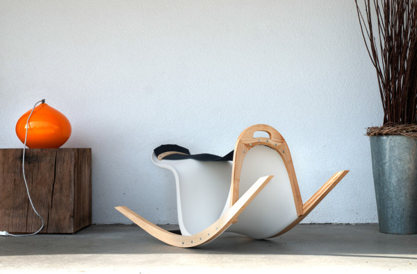The Rocking Verner Makes Sitting A Little More Fun in main home furnishings  Category