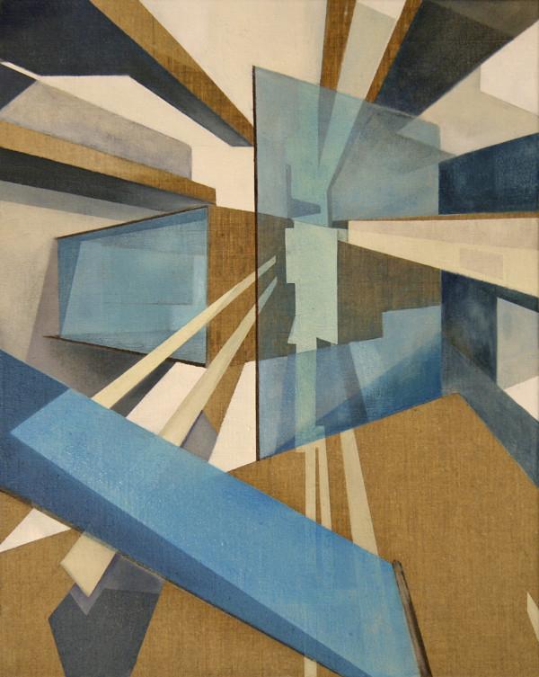 hub, 50x40cm, Oil on raw canvas