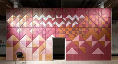 BAUX Sound Absorbing Wall Panels by Form Us With Love