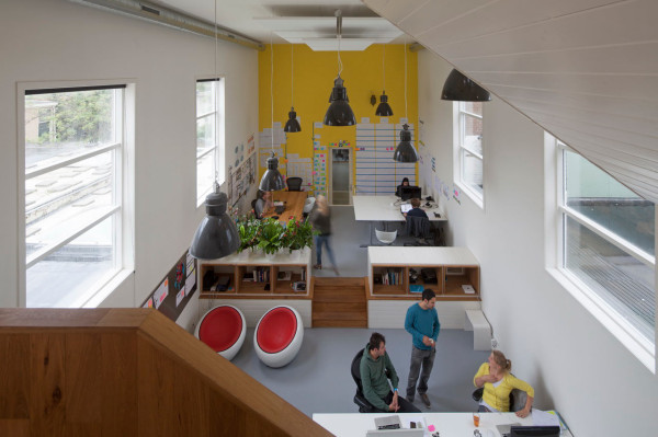 A 19th Century Church Becomes Offices