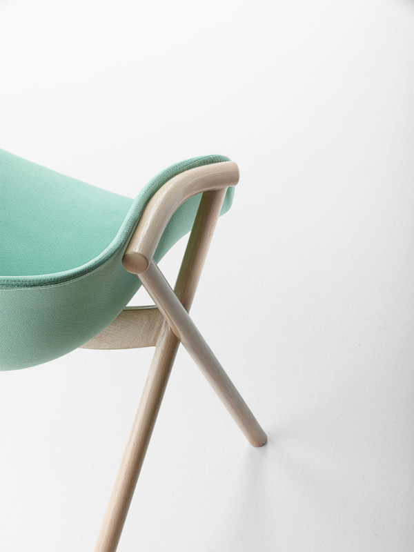 Bai Chair by Ander Lizaso for Ondarreta in main home furnishings  Category