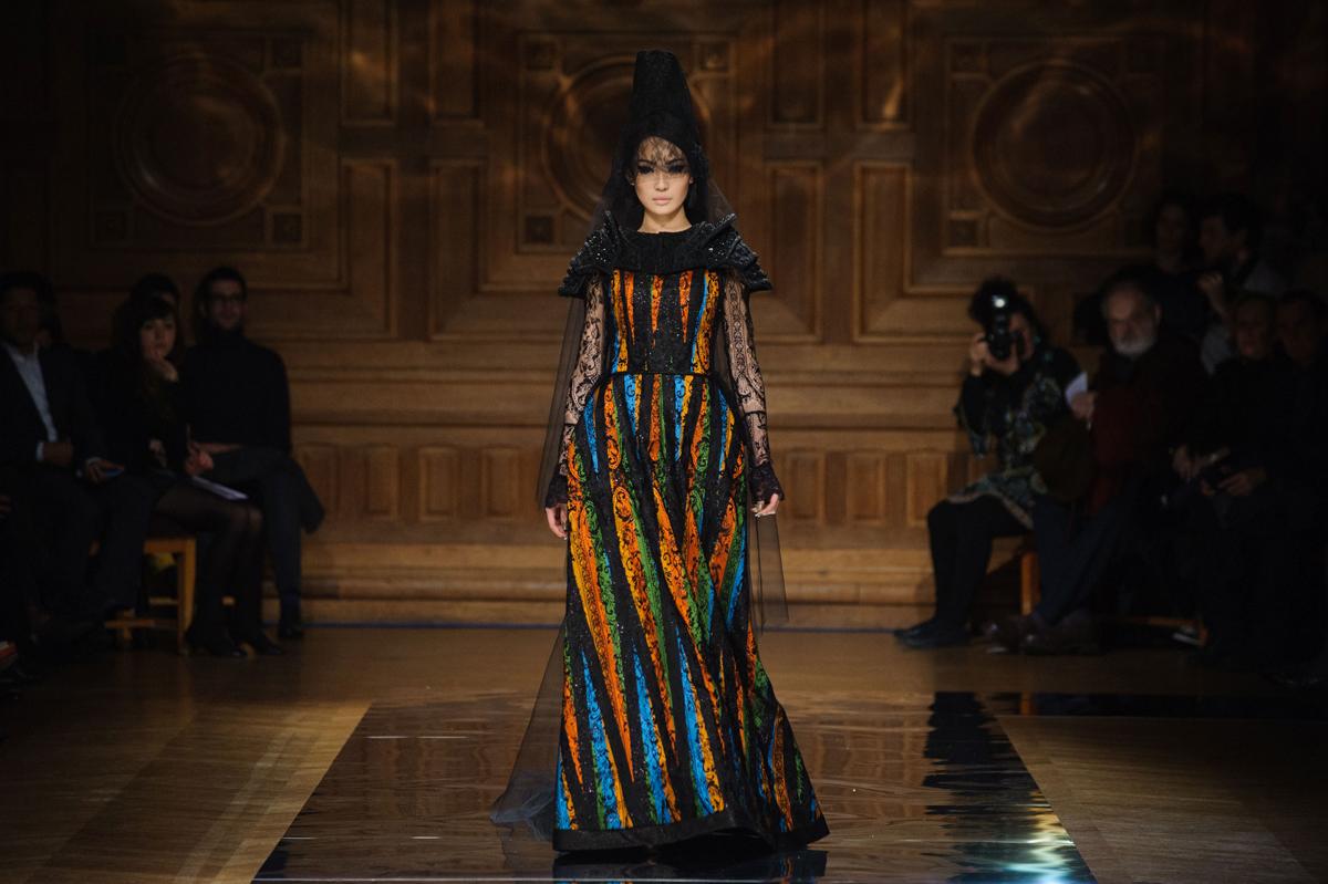 Oscar Carvallo SS 2014 Couture Collection