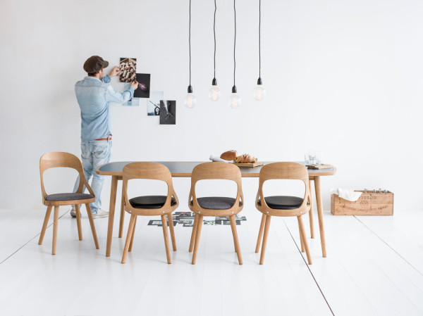 Dining Chair dining chair Colibri Chair: The Impeccable Nordic Dining Chair Colibri Chair Markus Johansson HansK 3