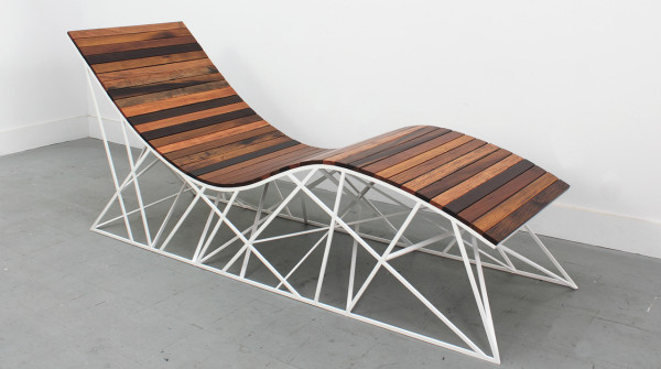 Cyclone Lounger by Uhuru in home furnishings Category