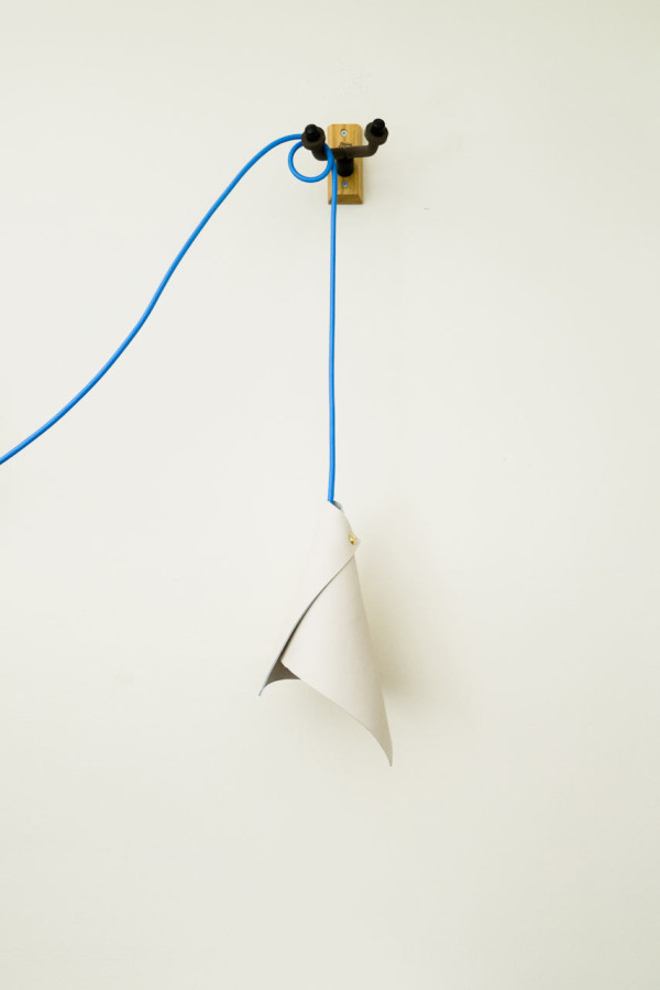 How To Make A Diy Simple Cone Pendant Lamp Design Milk