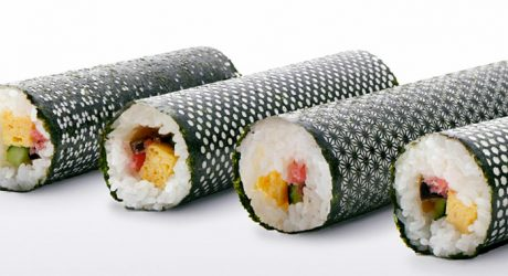 Design Nori: Laser Cut Seaweed for Sushi