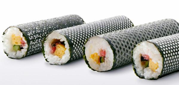Design Nori: Laser Cut Seaweed for Sushi