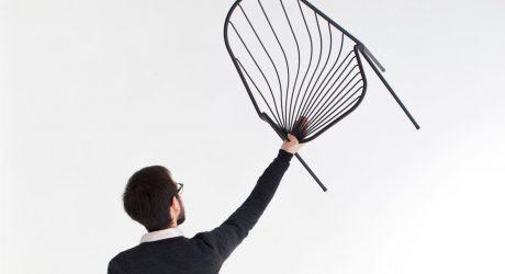 Drapée: A Stackable Chair by Constance Guisset