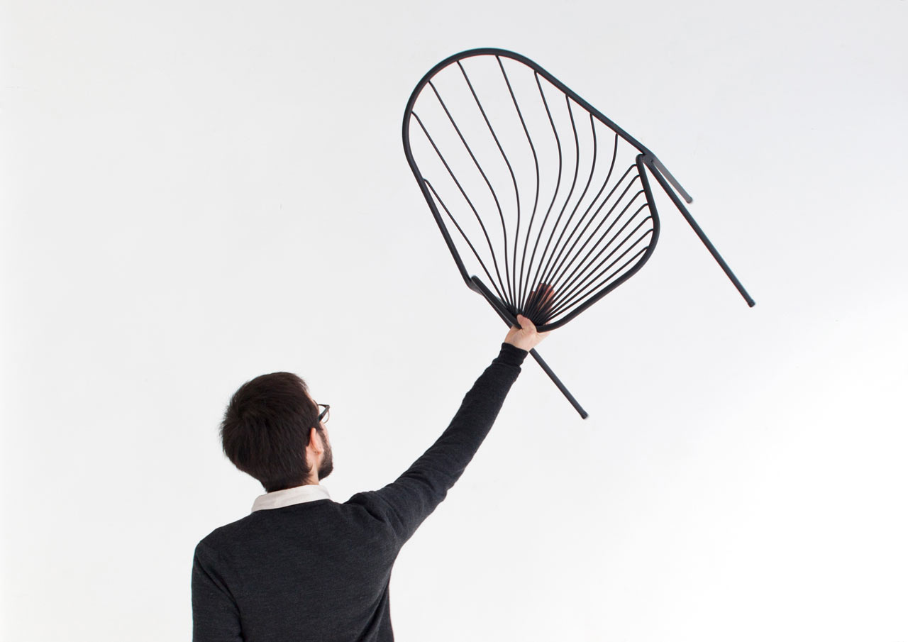 Drapée: A Stackable Chair by Constance Guisset