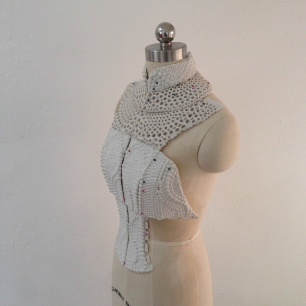 3D Printed Top Inspired By The Electrolysis of Water in technology style fashion main  Category