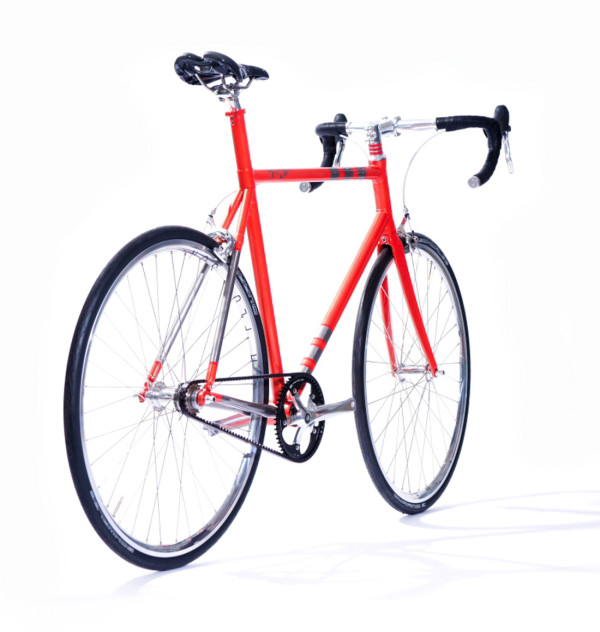A Custom Made Bike Frame With 3D Printed Parts in technology style fashion main  Category
