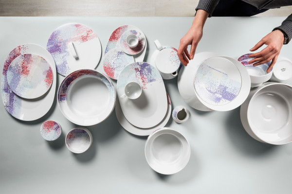 Format Unsealed Pattern by Inesa Malafej for Rosenthal in main home furnishings  Category