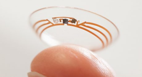Google's Smart Contact Lens Project