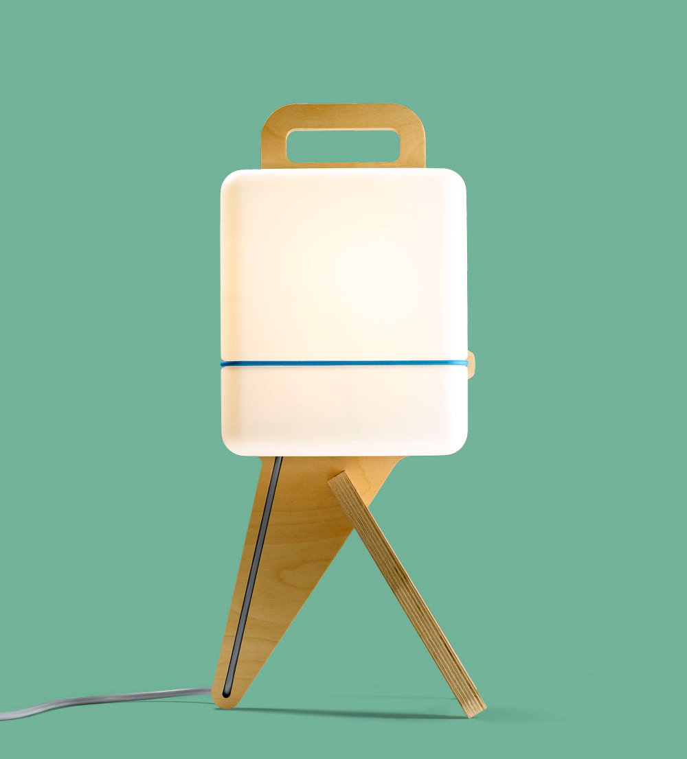 A simple table lamp named henk design milk a simple table lamp named henk geotapseo Choice Image