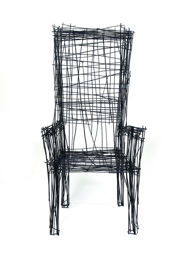 Furniture inspired by line drawings by jin il park for Chair design drawing