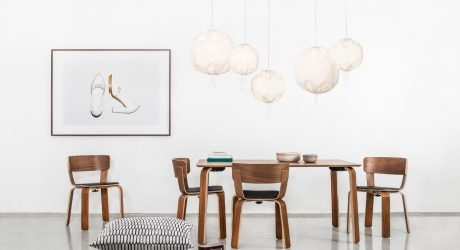 Kuu Lamp: A Drawstring Pendant from One Nordic