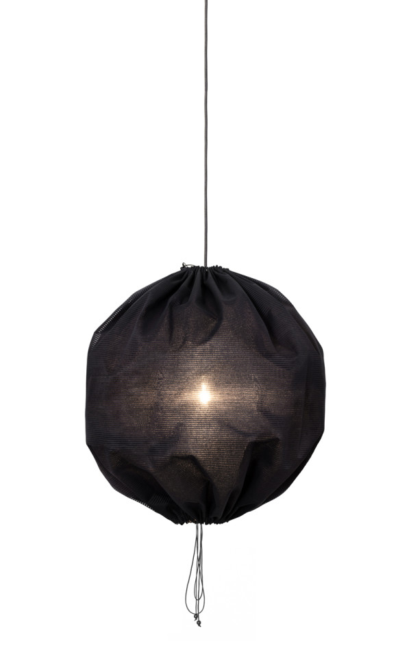 Kuu Lamp: A Drawstring Pendant from One Nordic in main home furnishings  Category