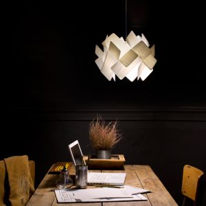 Escape-S: Domino-Inspired Lighting by Ray Power for LZF