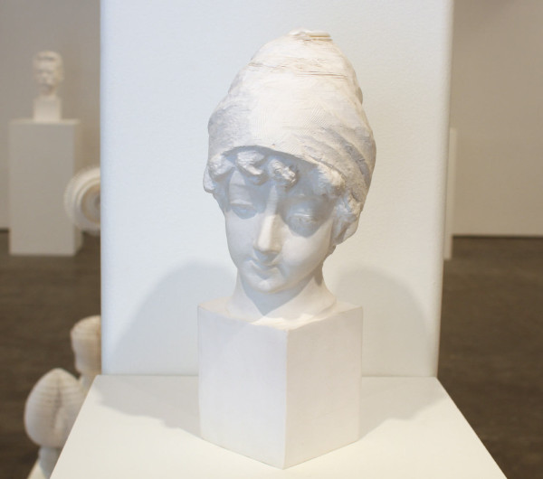 Bust of Young English Girl, 2013